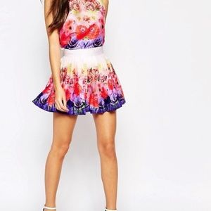 ASOS Wolf & Whistle Top and Skirt Set